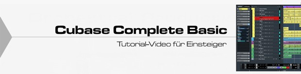 Cubase Basic Tutorial Header