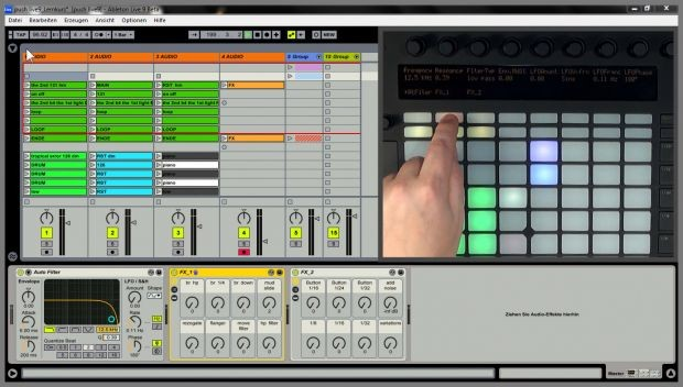 Hands on Ableton Push