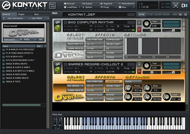 Drums Overkill Screen