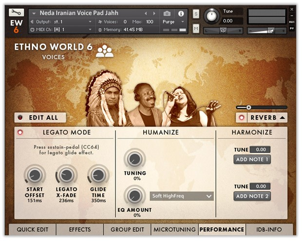 Ethno World Voices GUI