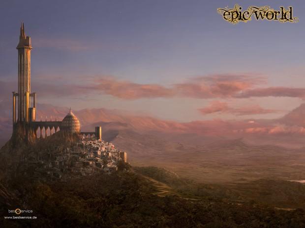 Epic World Landscape