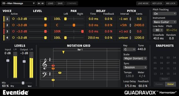 Quadravox GUI