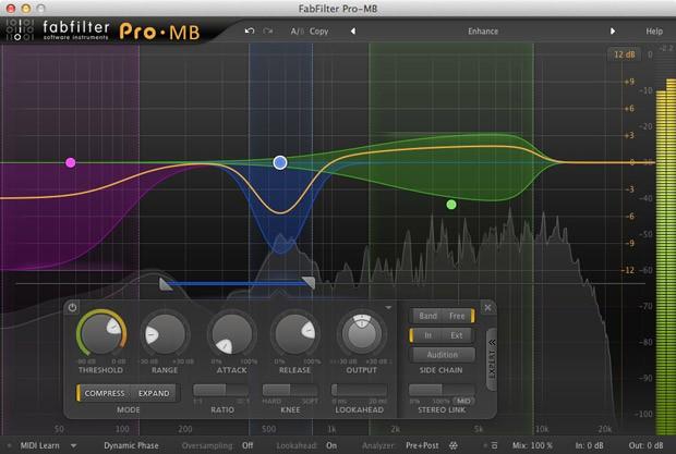 Pro-MB GUI Screen