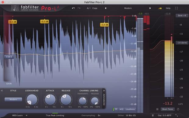 Pro-L GUI Screen