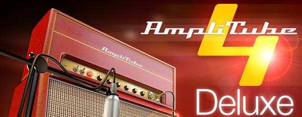 Amplitube 4 Deluxe Header