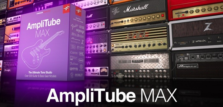 Amplitube Header Max