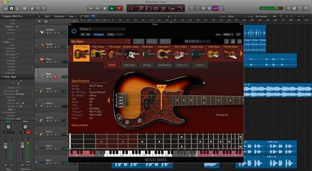 Modo Bass GUI