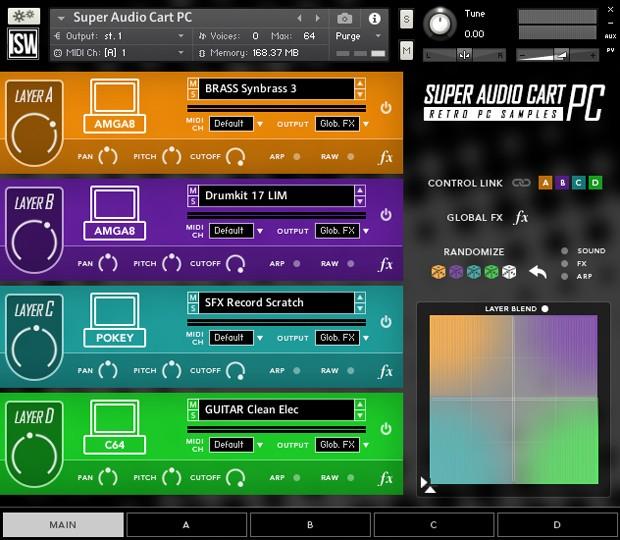 Super Audio Cart GUI