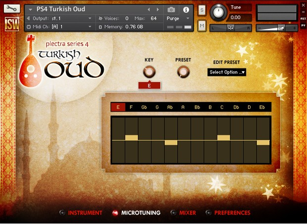 Turkish Oud GUI 2