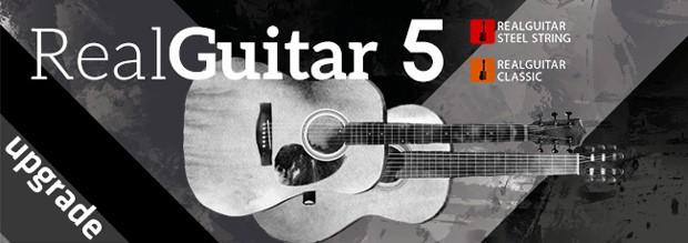 RealGuitar 5 UPgrade Header