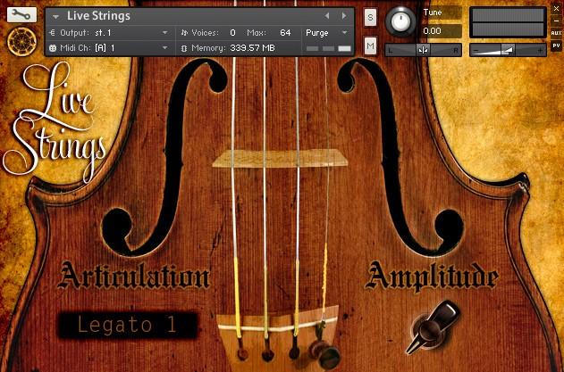 Live Strings Screenshot