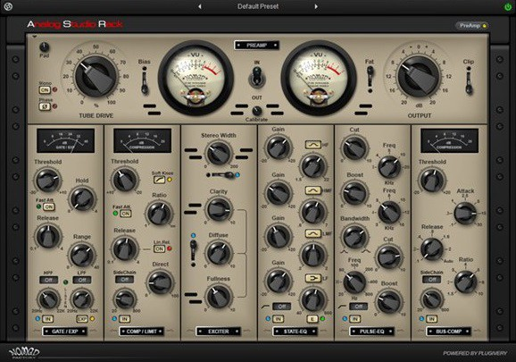 Studio Rack GUI