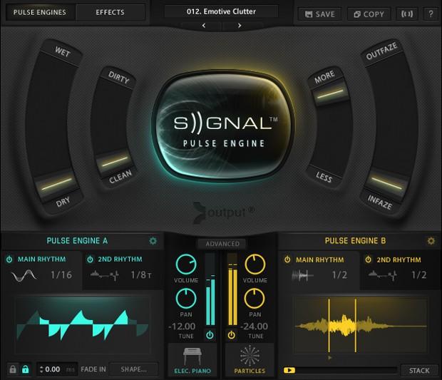 Signal Main Screen