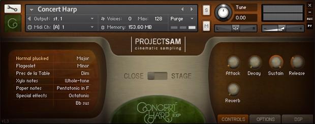 Concert Harp Screenshot