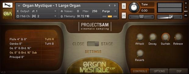 Organ Mystique Screenshot
