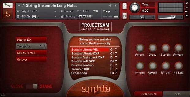 Screen String Ensembles
