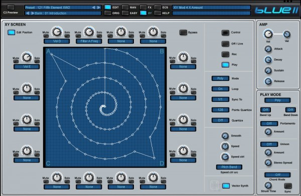 Blue II interface 2