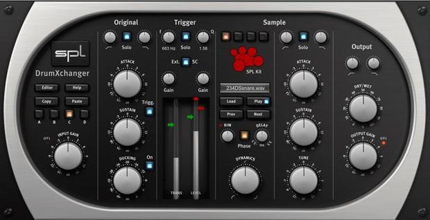SPL DrumXchanger Header