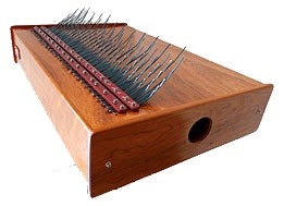 Array Mbira instrument