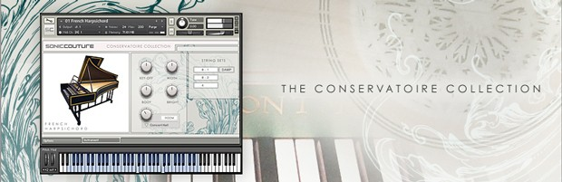 The Conservatoire Collection header