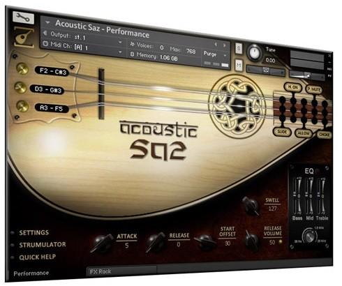 Acoustic Saz Screen