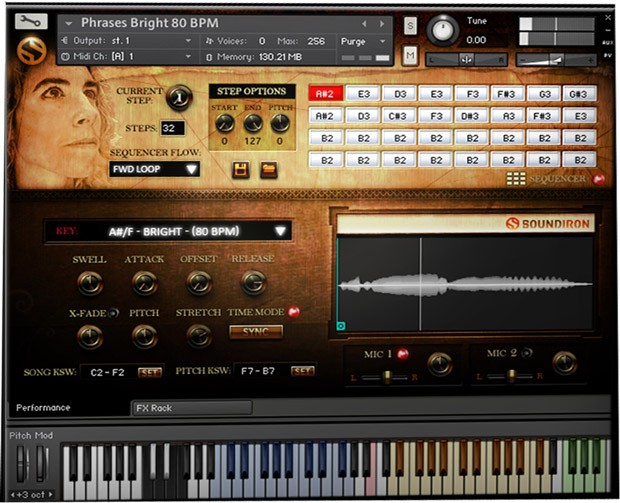 Voice of Gaia Francesca screen 2