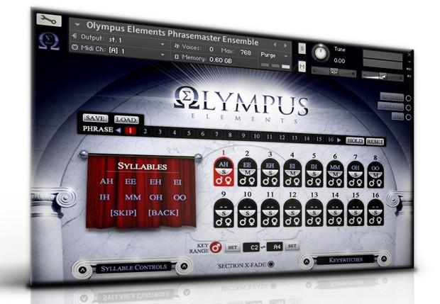 Olympus Elements Screen