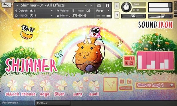 Shimmer GUI Screen