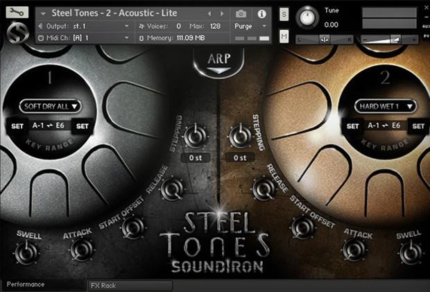 Steel Tones Screenshot