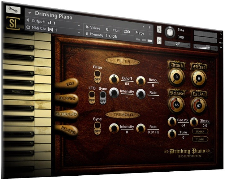Drinking Piano Screen