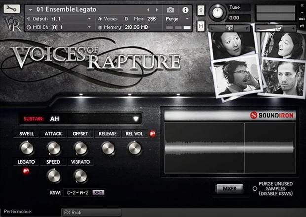 Voices of Rapture GUI 1