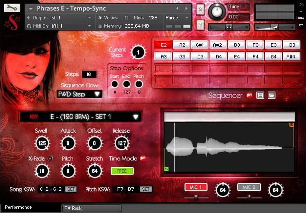 Voice og Gaja Screen