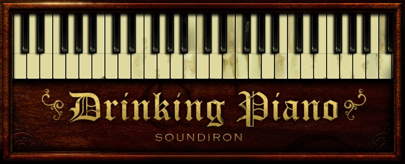 Instrument Series Drinking Piano