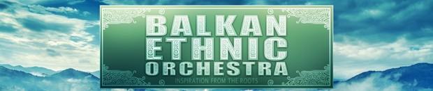 Balkan Ethnic Orchestra Banner