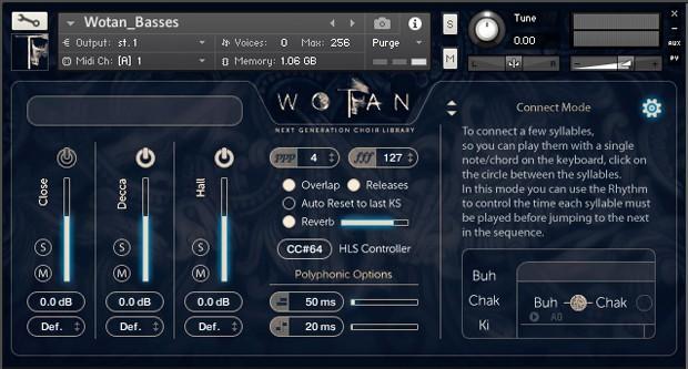 GUI Screen Basses