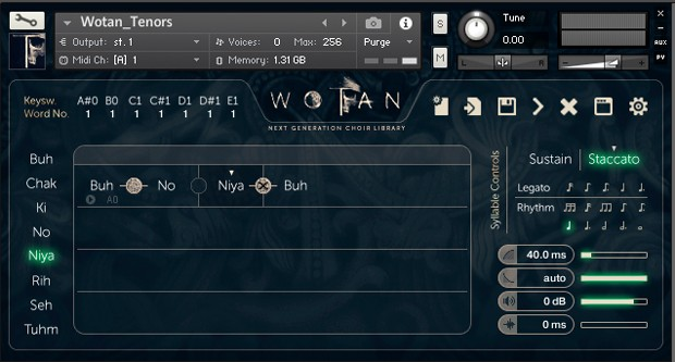GUI Screen Tenors