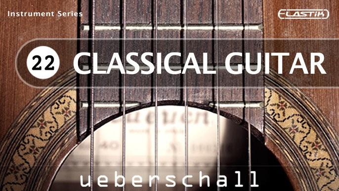 Classical Guitar Header