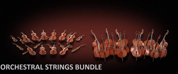 Orchestral Strings Bundle Header