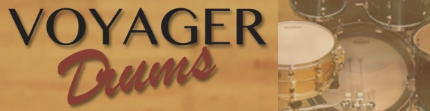 Voyager Drums header