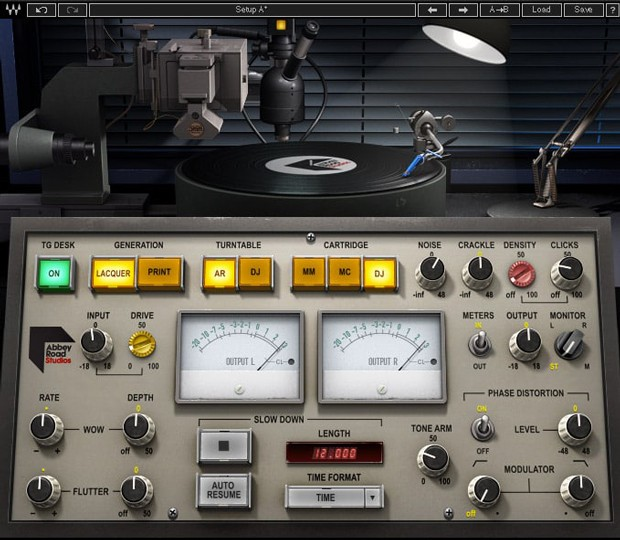 Abbey Road Vinyl GUI