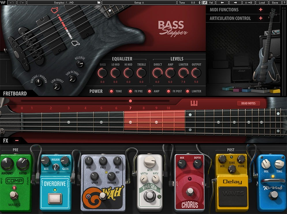 Bass Slapper GUI Screen
