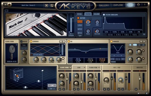 Addicitive Keys Engine Mark One