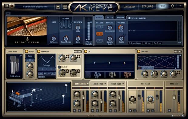 Addictive Keys Engine Studio Grand