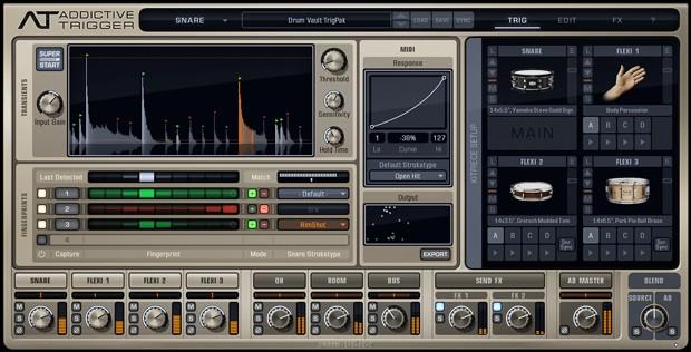 Drum Vault GUI Screen