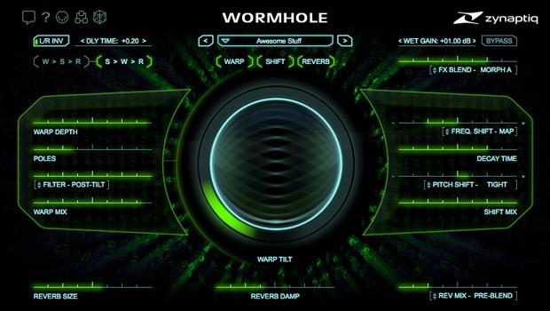 Wormhole GUI Screen