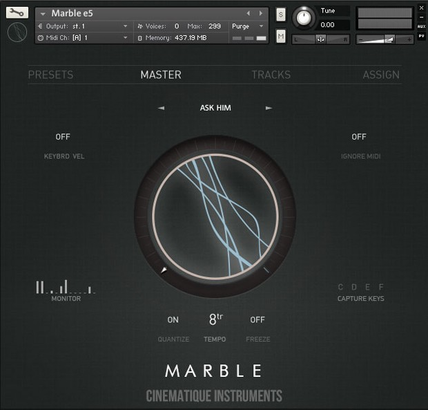 Marble Main Gui Screen