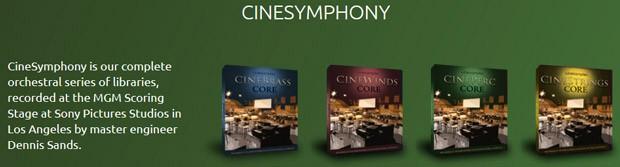 CineSymphony Header
