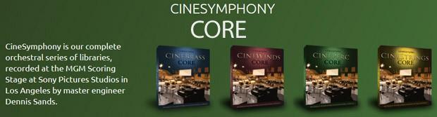 Cine Symphony CORE header