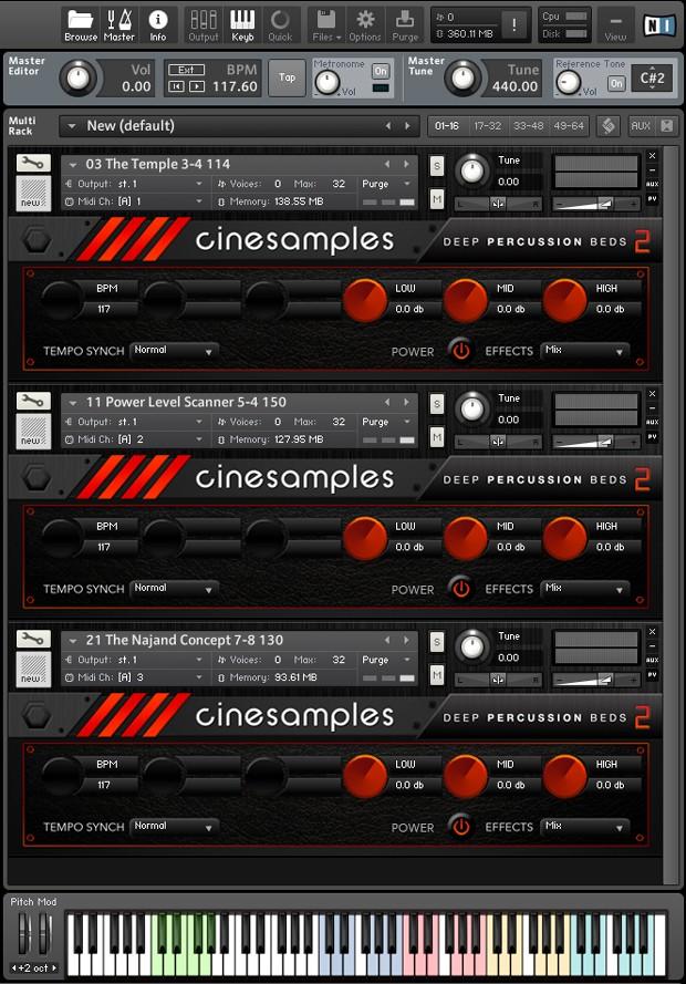 Deep Percussion Loops 2 Screen