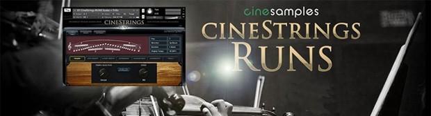 Cinestrings Runs header